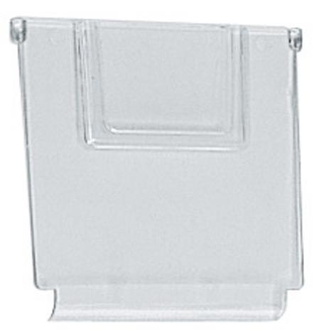 Trennwand, transparent, Breite 93mm