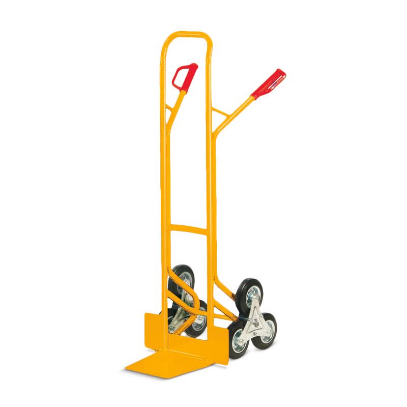 Treppenkarre Ameise ® mit 3-armigen Rad-Sternen. Tragkraft 200kg
