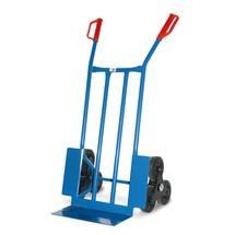 Treppenkarre BASIC, mit 3-armigem Radstern, Tragkraft 250 kg