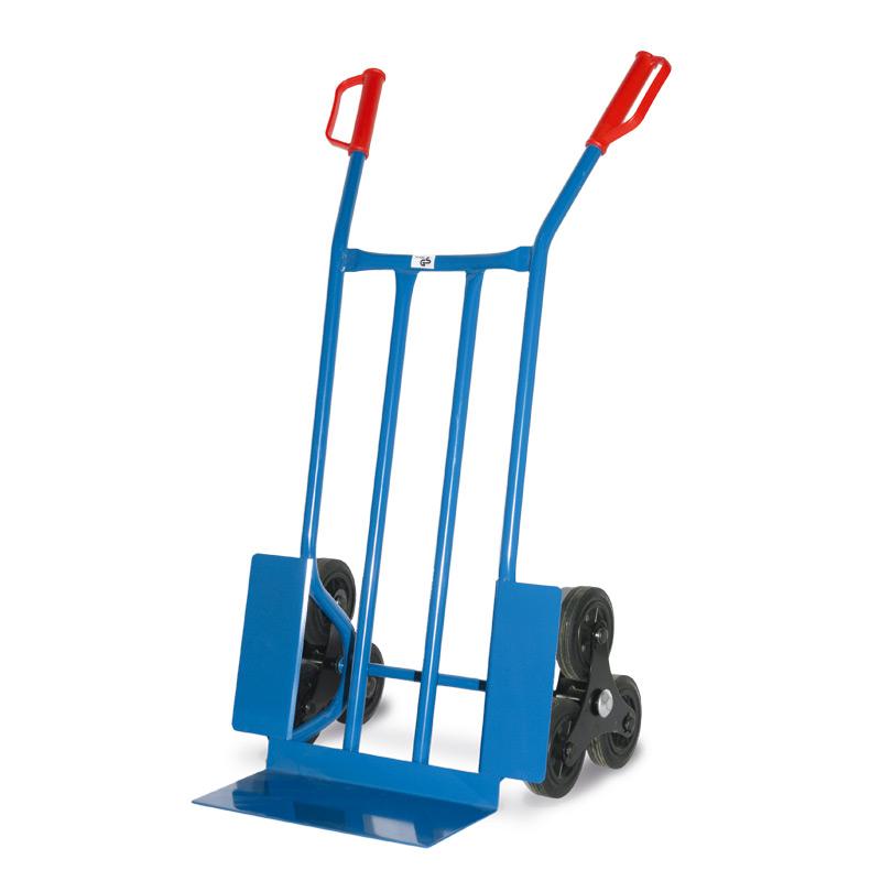 Treppenkarre BASIC mit 3-armigen Rad-Sterne. Tragkraft 250kg