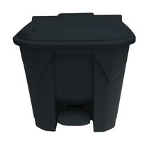 Tret-Abfallbehälter Change Noir