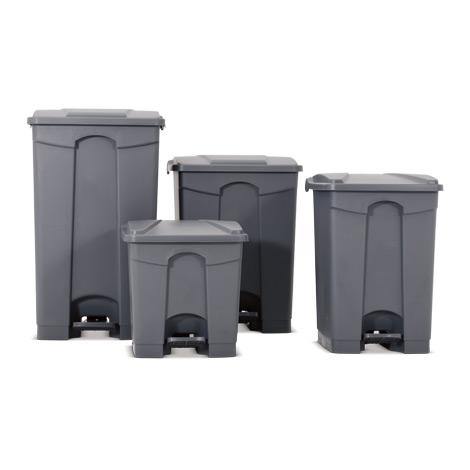 Tret-Abfalleimer aus PP. 30 bis 87 Liter