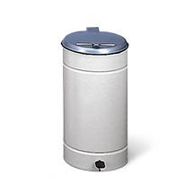 Tret-Abfalleimer Euro-Pedal, Für 60 Liter Kunststoffsäcke,