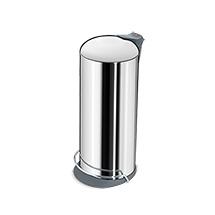 Tret-Abfallsammler, Volumen 26 Liter, H x Ø mm: 660 x 260
