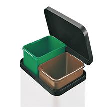 Tret-Wertstoffsammler. 2 x 11 - 3 x 11 Liter