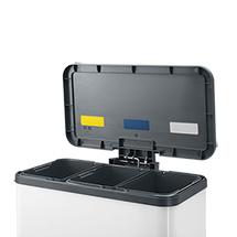Tret-Wertstoffsammler, 3 x 11 Liter, BxTxH mm: 470 x 250 x 440