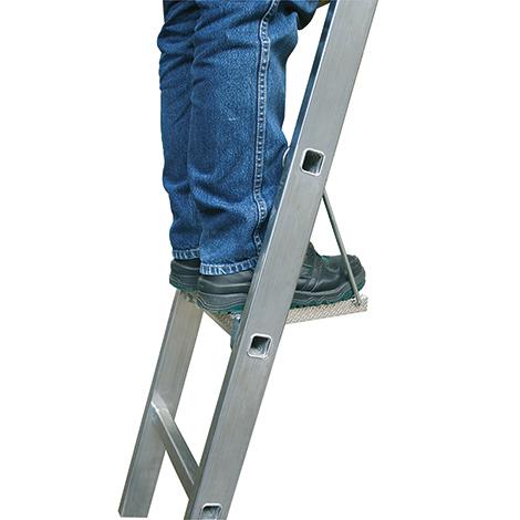 Tritt/Ablage KRAUSE ® für Vielzweck-Sprossenleiter. Tragkraft 150 kg