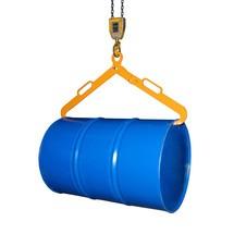 Trommelgrijper LG voor horizontale 200 liter staalplaatvaten