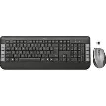 Trust Maus-Tastatur-Set Tecla
