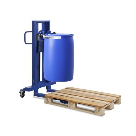 Tunnlyftanordning med cylinderklämma