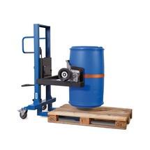 Turner de tambor 360°, capacidade de carga 300 kg