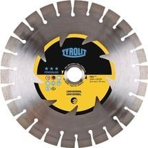 TYROLIT Diamanttrennscheibe Premium, D. 115 mm, für universelle Baumaterialien