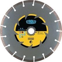 TYROLIT Diamanttrennscheibe Standard, D. 115 mm, für universelle Baumaterialien
