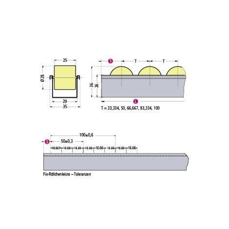 U-formede ruller, RU-Normal