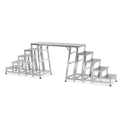 Überstiegsmodul für Aluminium-Modul-Arbeitspodeste