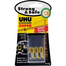 UHU Alleskleber SUPER Strong + Safe