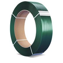 Umreifungsband aus Kunststoff (PET). Kern-Ø 406mm, Breite bis 19mm