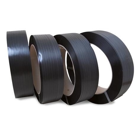 Umreifungsband aus Polypropylen. Breite bis 16mm, Länge bis 3000m