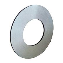 Umreifungsband aus Stahl einlagig. Blank, Breite 16mm, Länge 2400mm