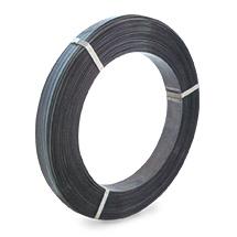 Umreifungsband aus Stahl mehrlagig. Lackiert, Breite bis 19mm