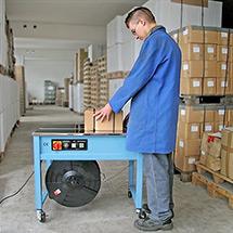 Umreifungsmaschine BASIC, halbautomatisch