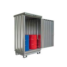 Umweltcontainer H x B 2300 x 1420 mm, Auffangvolumen bis 214 Liter
