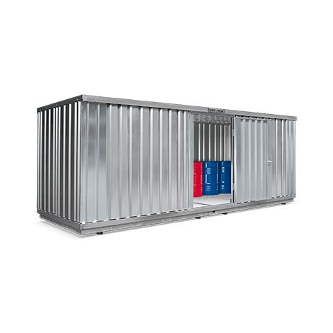 Umweltcontainer H x T 2300 x 2170 mm, Auffangvolumen bis 1480 Liter