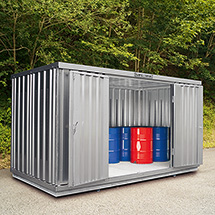 Umweltcontainer, HxBxT 2100x2170x2400mm, WGK-Klassen 1-3