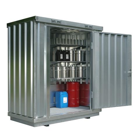 Umweltcontainer HxBxT 2300x2100x1140 mm, Auffangvolumen bis 275 Liter
