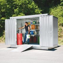 Umweltcontainer,  HxBxT 6080x2170x2310mm, WGK-Klassen 1-3