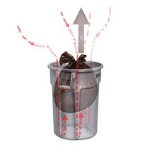 Universalbehållare Rubbermaid®, plast, rund