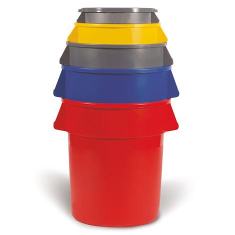 Universalcontainer rund, bis 208 Liter Inhalt
