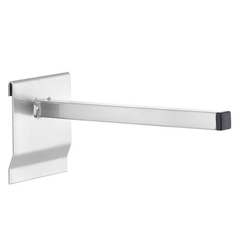 Universalhalter vierkant für Schlitzplatten. Ø 15/15m