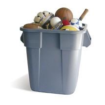 Universele container Rubbermaid®, kunststof, vierkant