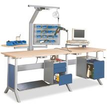 Unterbauschrank mit 1 Schublade für Arbeitsplatzsystem Tisch, HxBxT 500 x 370 x 400 mm