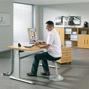 UP & DOWN Schreibtisch C-Fuß