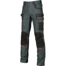 U.POWER Jeans Exciting Platinum