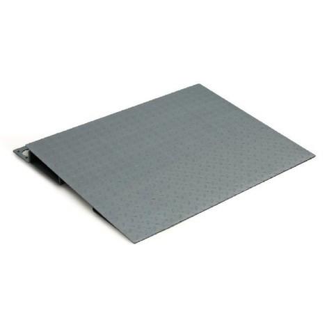 Uppkörningsramp för golvvåg