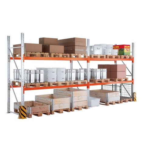 Upright frame for MULTIPAL pallet rack