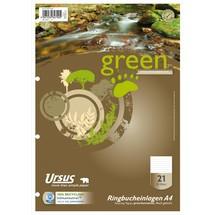 Ursus Ringbucheinlagen Green