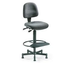 Uso da cadeira giratória de trabalho