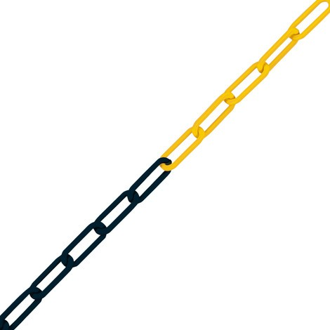 Uzavírací řetěz pro zahrazovací sloupky na řetěz