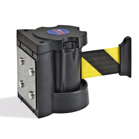 Vægbånd, selvstrammende og med centrifugalkraftbremse