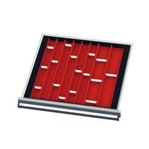 Vakset voor kasten BxDmm: 600x575, fronthoogte 50 mm