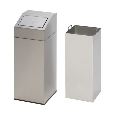VAR® recycling container in stainless steel