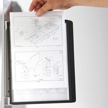 VARIO MAGNET WALL 5 Sichttafelsystem mit magnetischen Rücken, 5tlg.