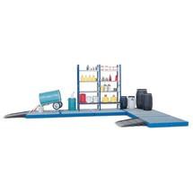 Vasca di raccolta piatta asecos® in PE, elemento pavimento