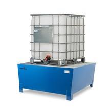 Vasca di raccolta Steinbock® in acciaio per KTC/IBC, accessibile