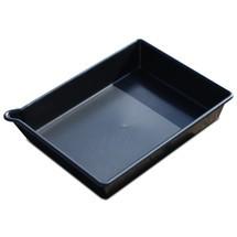 Vasca in PE per piccoli contenitori, nero