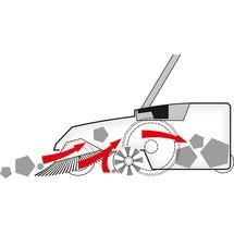 Vassoura mecânica Steinbock® Turbo Premium, elétrica